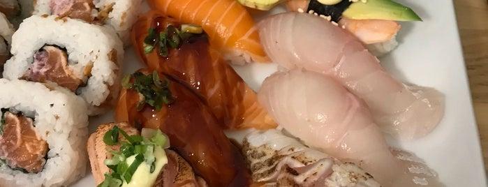 Minato Sushi is one of Locais salvos de Salla.