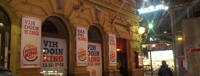 Burger King is one of Posti che sono piaciuti a Juha.