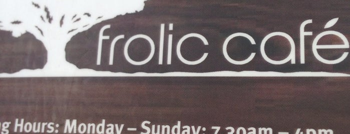 Frolic is one of Auckland Cafes.