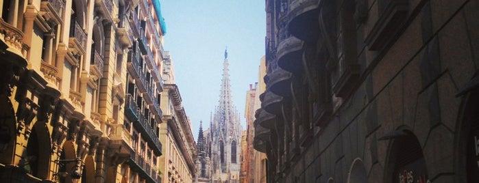 Plaça de les Olles is one of Barcelona.