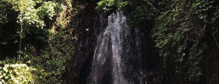Taktak Falls is one of Siargao.