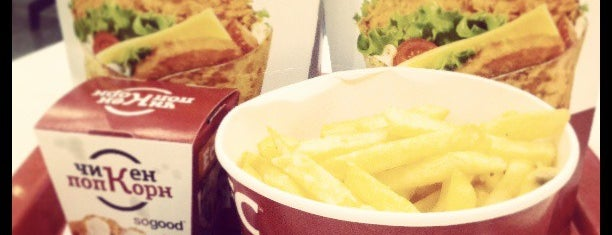 KFC is one of Gleb'in Beğendiği Mekanlar.