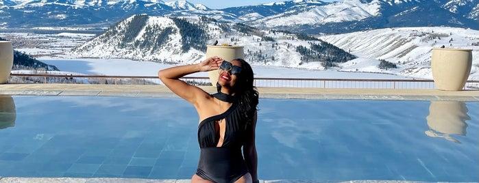 Amangani Resort is one of Jackson Hole.