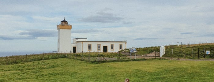Duncansby Head Lighthouse is one of Lieux sauvegardés par Sevgi.