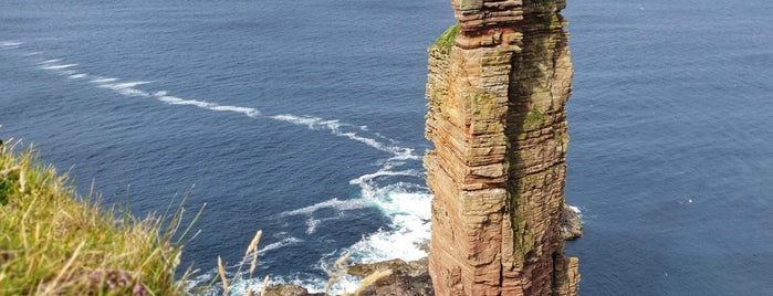 Old Man of Hoy is one of Scotland.