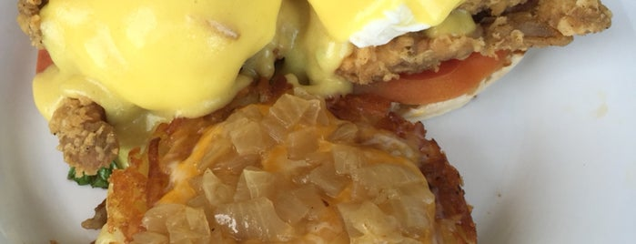 Citrus Breakfast & Lunch is one of America's 50 Best Eggs Benedict Dishes.