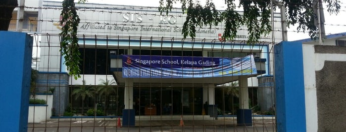 Singapore School Kelapa Gading is one of Lugares favoritos de Meidy.