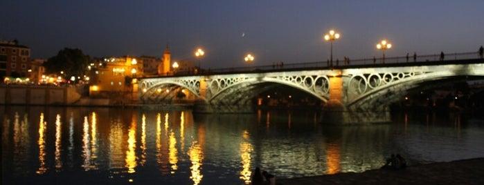 Puente de Isabel II 'Puente de Triana' is one of #2019/2020 Sevilla Andalucia.