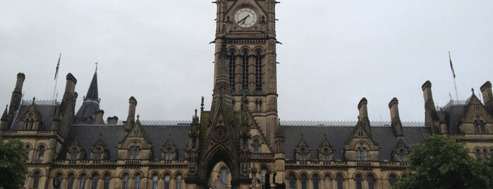 Albert Square is one of Manchester.