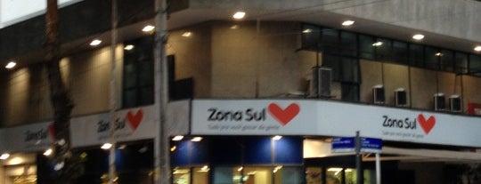 Supermercado Zona Sul is one of Locais curtidos por Phillipe.