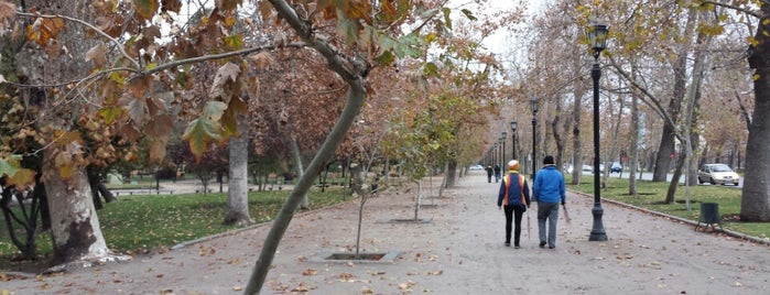 Parque Forestal is one of Santiago, Chile.