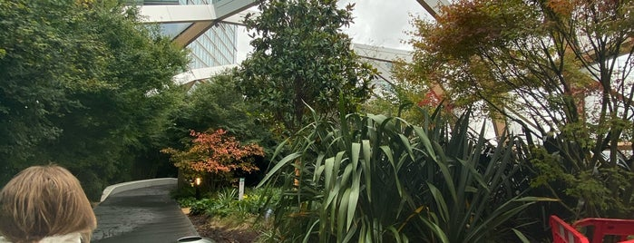 Crossrail Place Roof Garden is one of London.