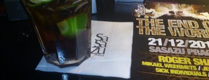 SaSaZu is one of prazsky bary / bars in prague.