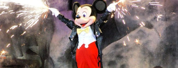 Fantasmic! is one of Locais curtidos por Michael.
