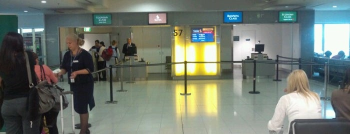 Gate 57 is one of Sydney Airport Watchlist.