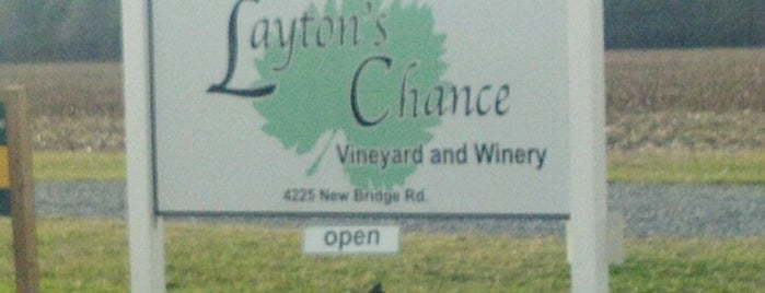 Layton's Chance Winery is one of Vineyards, Breweries, Beer Gardens.