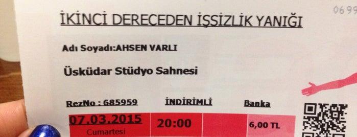 Üsküdar Stüdyo Sahne is one of Gözde'nin Beğendiği Mekanlar.
