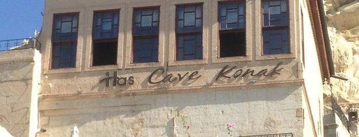 Has Cave Konak is one of Posti che sono piaciuti a Mehmet.