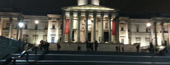 National Gallery is one of Places to Visit in London.