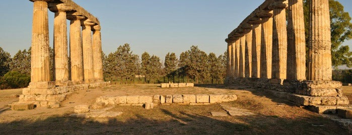 Temple of Hera is one of South Italy.