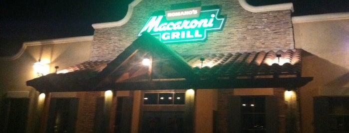 Romano's Macaroni Grill is one of Lieux qui ont plu à Scott.