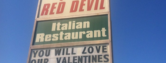 Red Devil Italian Restaurant & Pizzerias is one of Favorite Food.