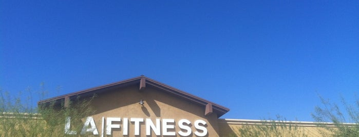 LA Fitness is one of Lugares guardados de Raquel.