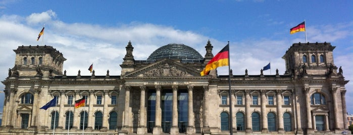 Reichstag is one of Volta ao Mundo oneworld: Berlim.