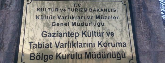 Gaziantep Kültür Varlıklarını Koruma Bölge Kurulu is one of Tempat yang Disimpan TC Turgay.