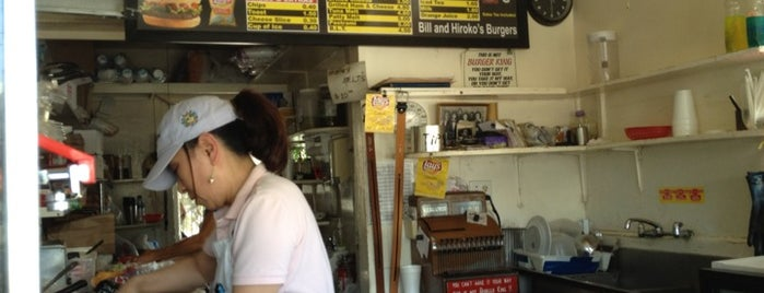 Bill's Burgers is one of Chris' LA To-Dine List.