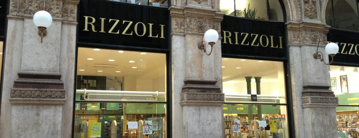 Libreria Rizzoli is one of Milan.