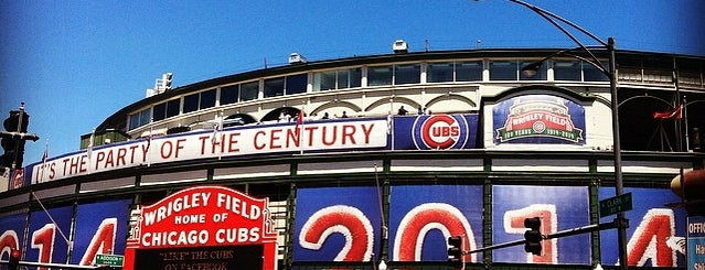 Wrigley Field is one of Events To Visit....