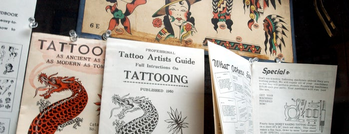Baltimore Tattoo Museum is one of Things to do in Baltimore.