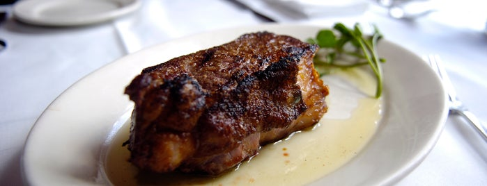 Lewnes' Steakhouse is one of Baltimore Sun's 100 Best Restaurants (2012).