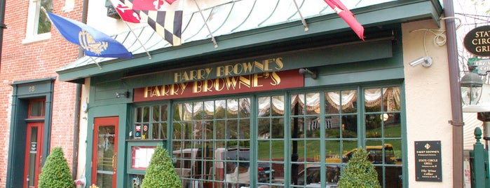 Harry Browne's is one of Baltimore Sun's 100 Best Restaurants (2012).
