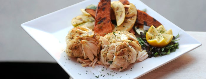 Regi's American Bistro is one of Baltimore Sun's 100 Best Restaurants (2012).