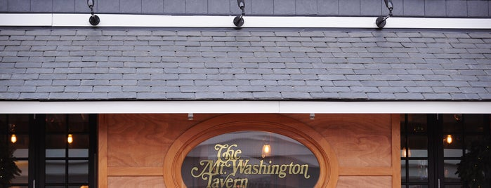 Mt. Washington Tavern is one of Recently Reviewed Bars.