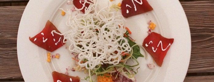 Carrol's Creek Cafe is one of Baltimore Sun's 100 Best Restaurants (2012).