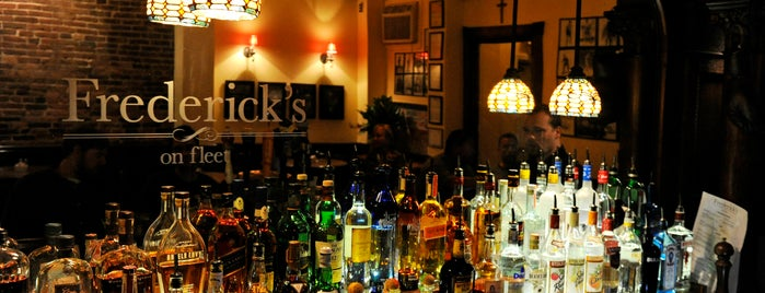 Frederick's on Fleet is one of Buy Me A Drank.