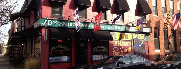 JD's Smokehouse Bar & Grill is one of Baltimore Chowdown.