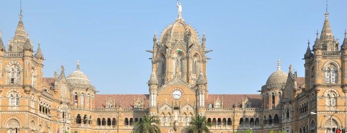 Chhatrapati Shivaji Maharaj Terminus is one of minhas viagens *.*.