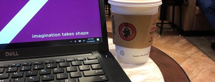 Pacific Coffee is one of Orte, die Kevin gefallen.
