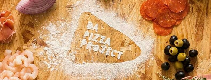 Da Pizza Project is one of Tempat yang Disimpan Dalì-La.