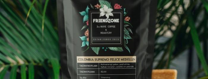 Friendzone Cafe 3rd Wave Coffee & Roastery is one of İzmir deki mekanlar.