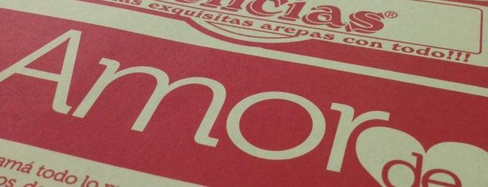J&C Delicias is one of Tempat yang Disukai Felipe.