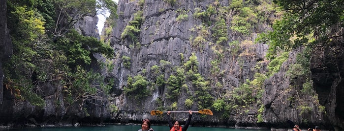 Small Lagoon is one of El Nido.