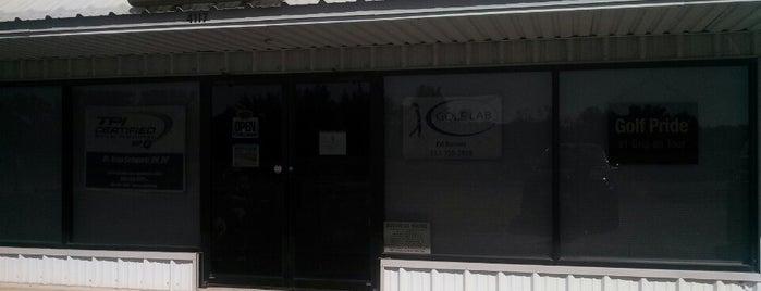 The Golf Lab is one of Tempat yang Disukai Tiffany.