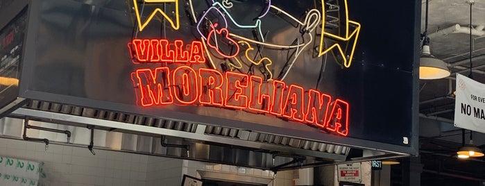 Villa Moreliana is one of LA.