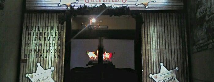 El Condado Country Bar is one of Lugares guardados de Adan.