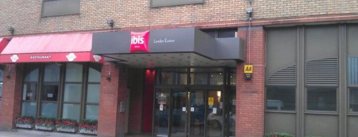 Ibis London Euston is one of Lieux qui ont plu à Joao Ricardo.